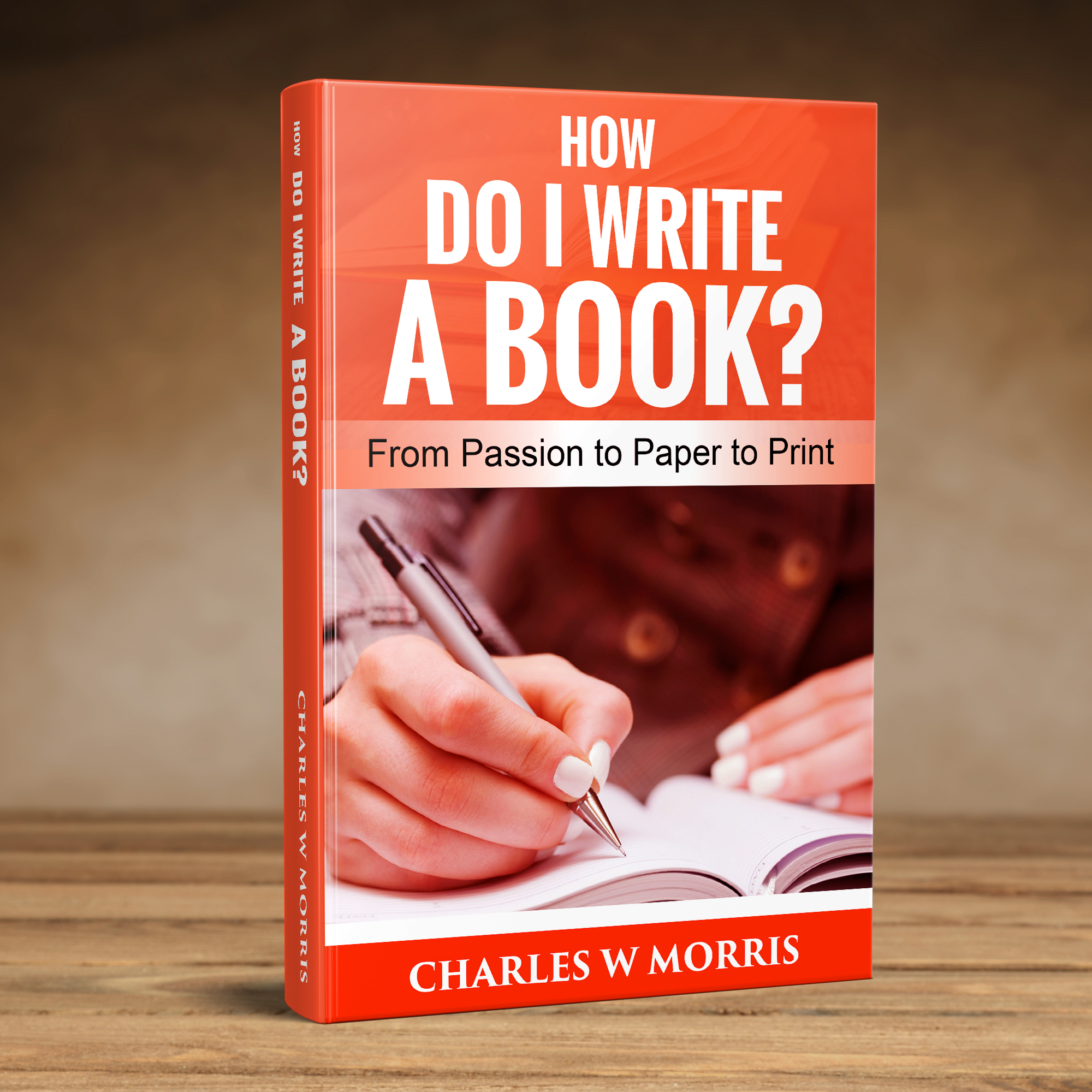 HOW DO I WRITE A BOOK 3D